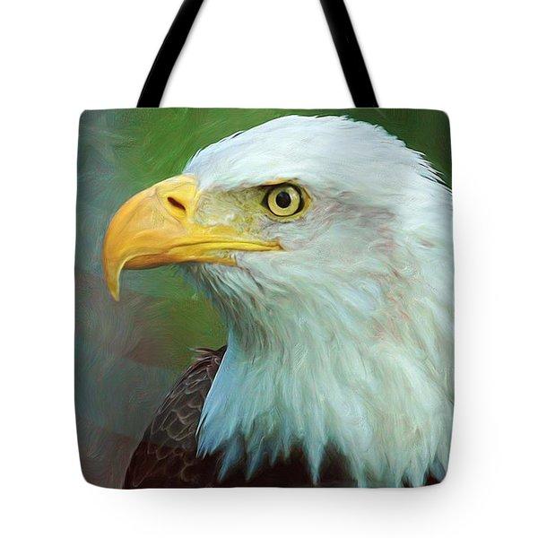 Patriot Tote Bag by Heidi Smith