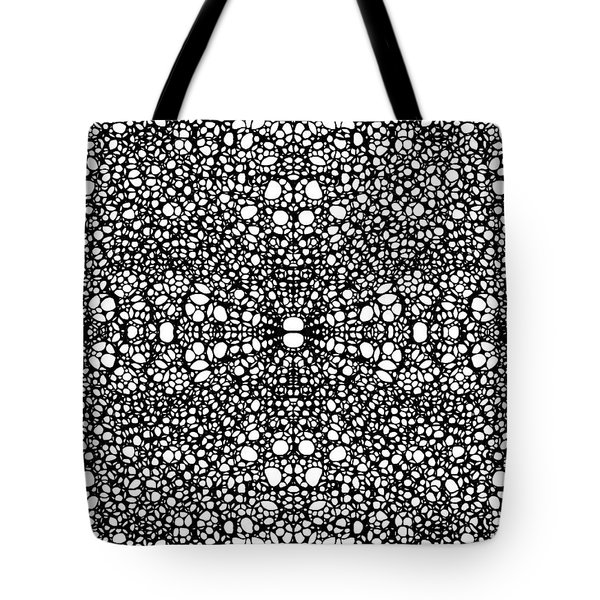 Pattern 26 - Intricate Exquisite Pattern Art Prints Tote Bag by Sharon Cummings