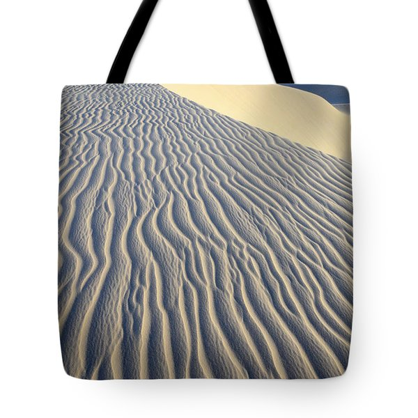 Patterns In The Sand Brazil Tote Bag by Bob Christopher