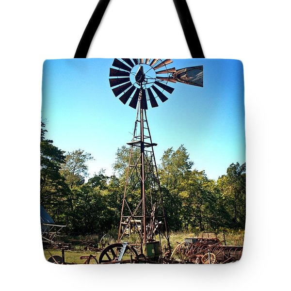 Patterson Windmill Tote Bag by Marty Koch