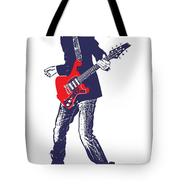 Paul Gilbert No.01 Tote Bag by Caio Caldas