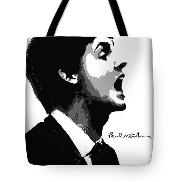Paul McCartney No.01 Tote Bag by Caio Caldas