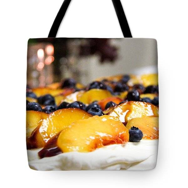 Pavlova And Candle Tote Bag by Nancy Harrison