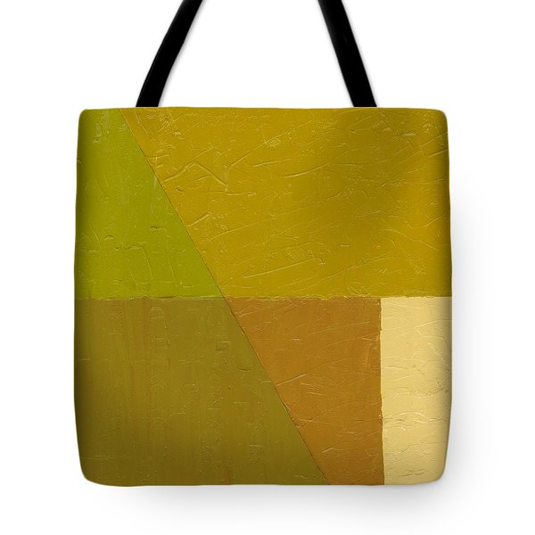 Pea Soup and Cream Tote Bag by Michelle Calkins