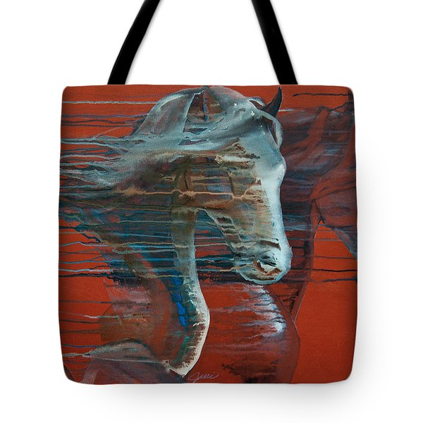Peace And Justice Tote Bag by Jani Freimann