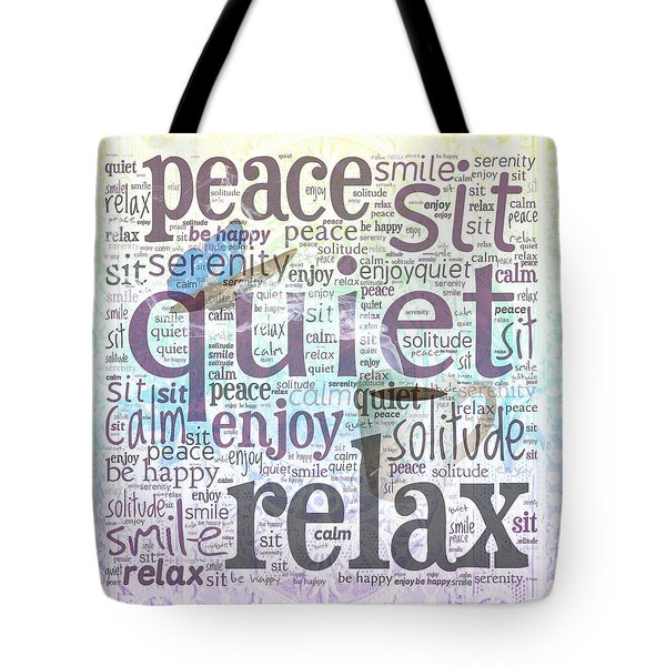 Peace And Quiet 2 Tote Bag by Terry Fleckney