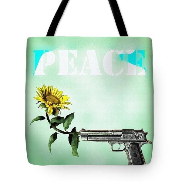 Peace Tote Bag by Bob Orsillo