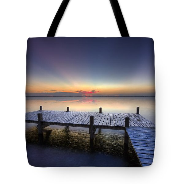 Peace Tote Bag by Debra and Dave Vanderlaan