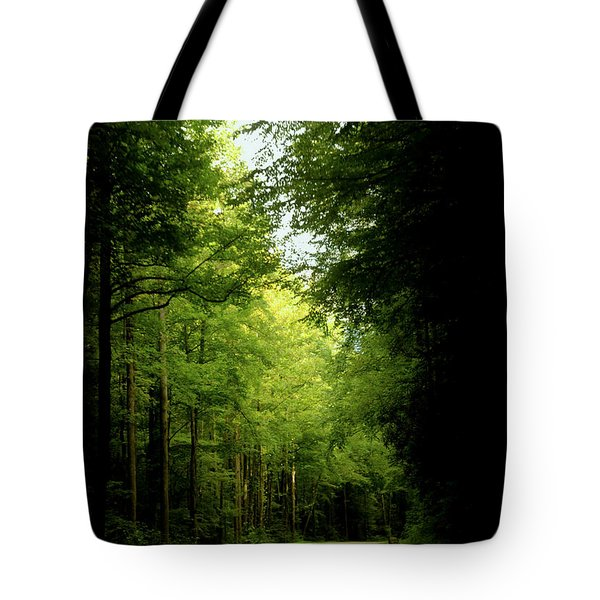 Peace Found Within Tote Bag by Karen Wiles