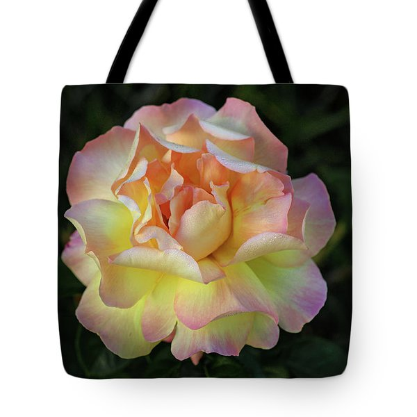 Peace Rose Tote Bag by Sandy Keeton