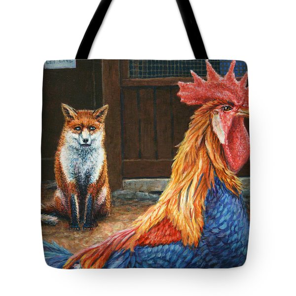 Peaceful Coexistence Tote Bag by James W Johnson