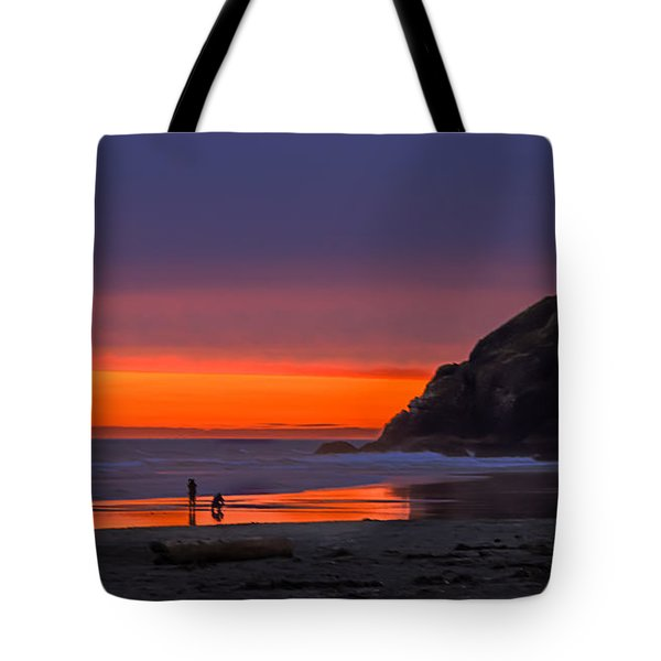 Peaceful Evening Tote Bag by Robert Bales