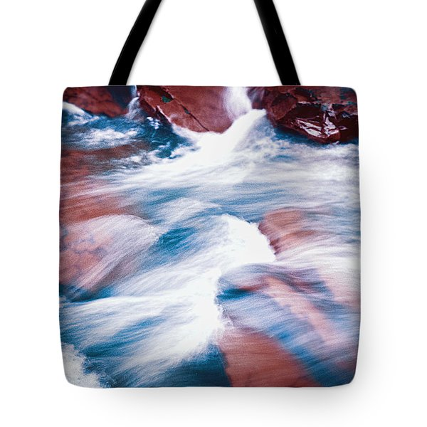 Peaceful Flow Tote Bag by Kellice Swaggerty