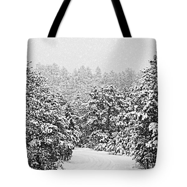 Peaceful Path Tote Bag by Barbara Henry