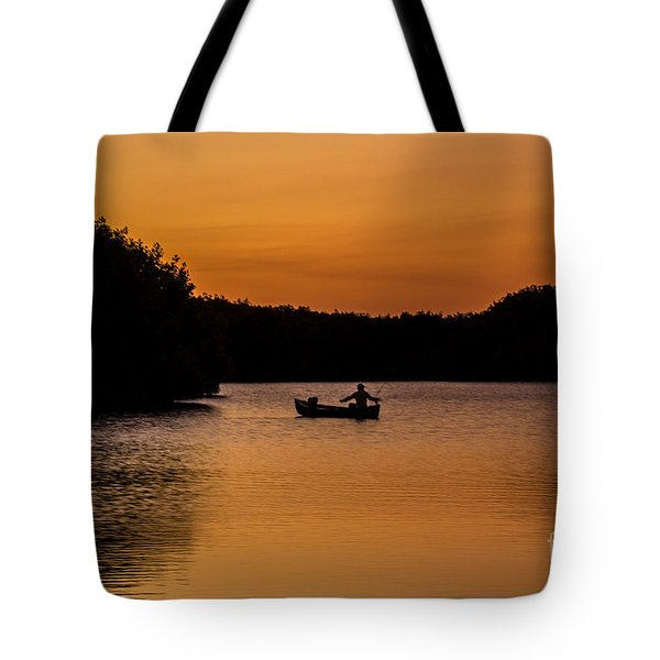 Peaceful Solitude Tote Bag by Rene Triay Photography