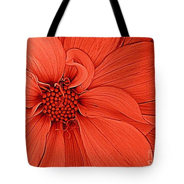 Peach Blossom Tote Bag by Dora Sofia Caputo Photographic Art and Design