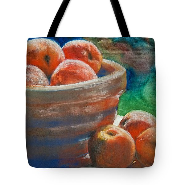 Peach Fuzz Tote Bag by Jani Freimann