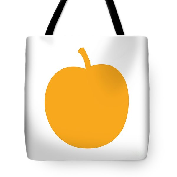 Peach Tote Bag by Jackie Farnsworth