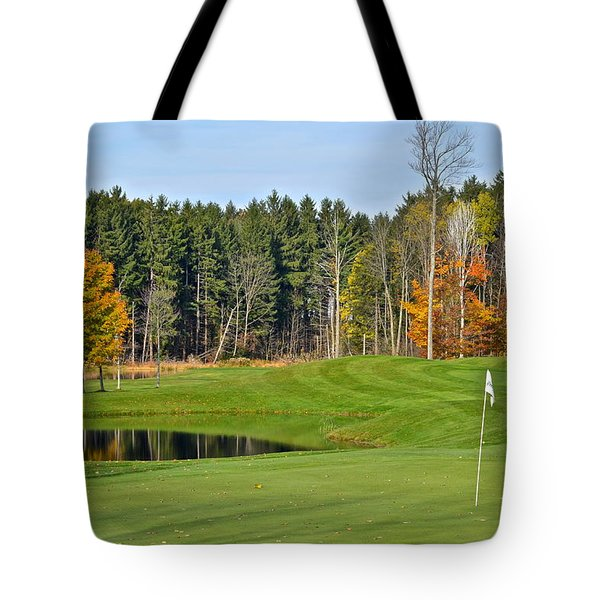Peak N Peak Resort Tote Bag by Frozen in Time Fine Art Photography
