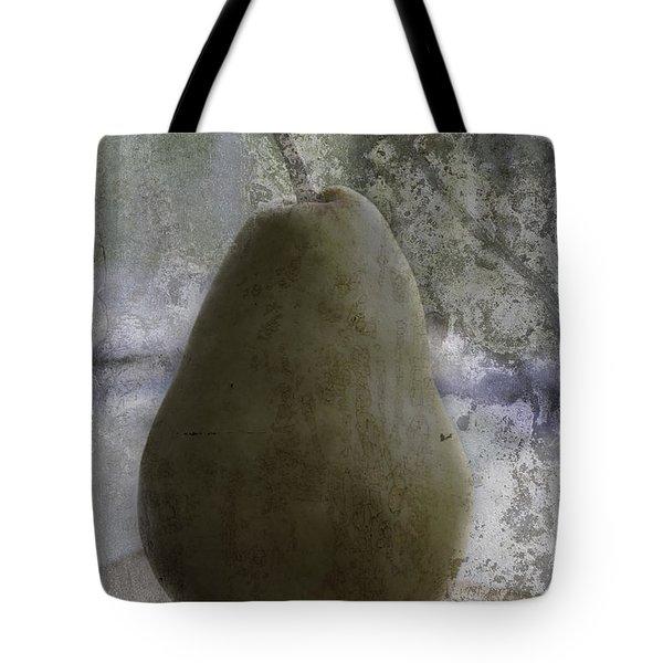 Pear Tote Bag by Arlene Carmel