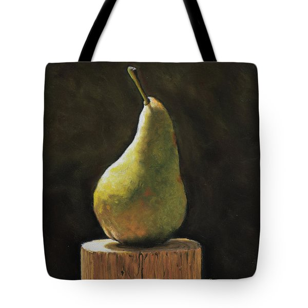 Pear Tote Bag by Joanne Grant