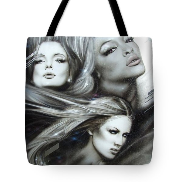 'pearl Passions' Tote Bag by Christian Chapman Art