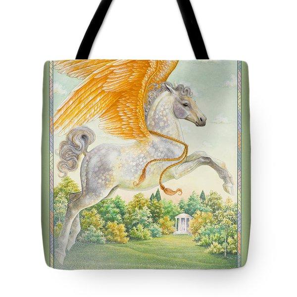Pegasus Tote Bag by Lynn Bywaters