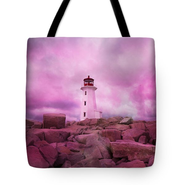 Peggy's Evening Tote Bag by Betsy C  Knapp