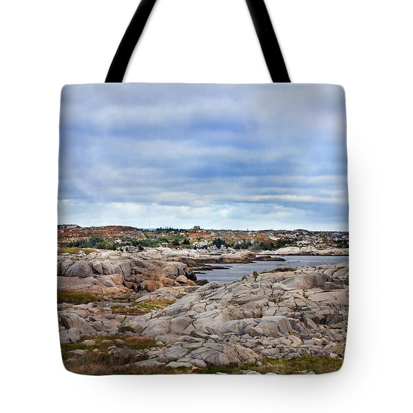 Peggy's World Tote Bag by Betsy C  Knapp