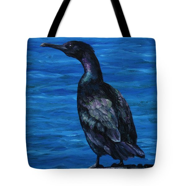 Pelagic Cormorant Tote Bag by Crista Forest