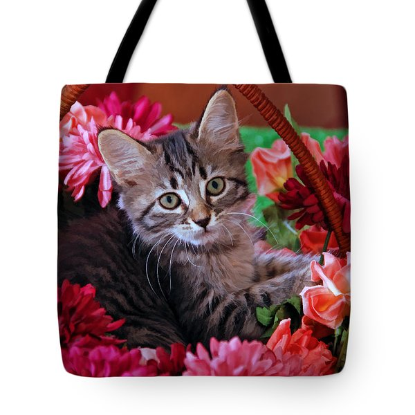 Pele In The Flowers Tote Bag by Kenny Francis