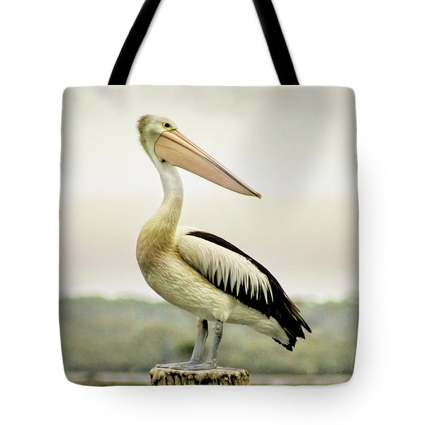 Pelican Poise Tote Bag by Holly Kempe