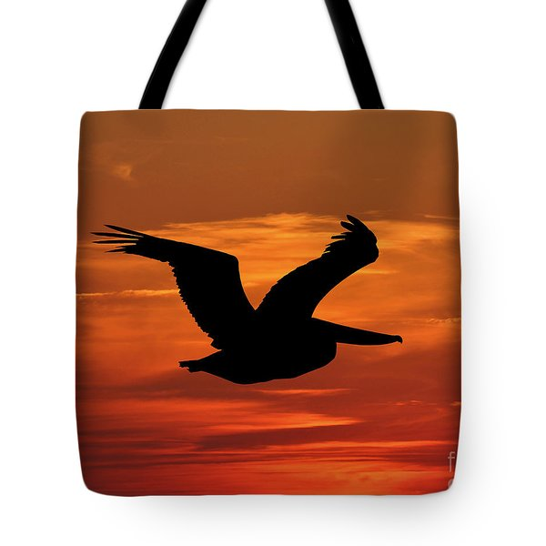 Pelican Profile Tote Bag by Al Powell Photography USA