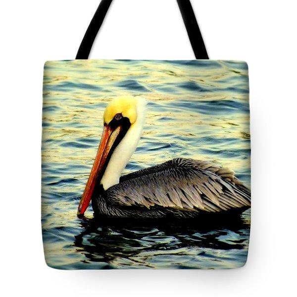 PELICAN WATERS Tote Bag by KAREN WILES