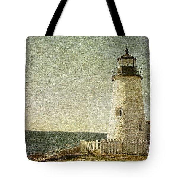 Pemaquid Lighthouse 2 Tote Bag by Cindi Ressler