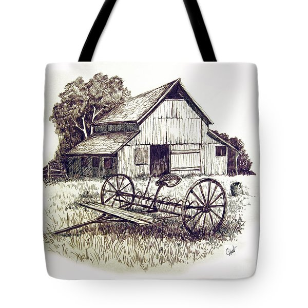 Pen and Ink 8 Tote Bag by Carol Hart