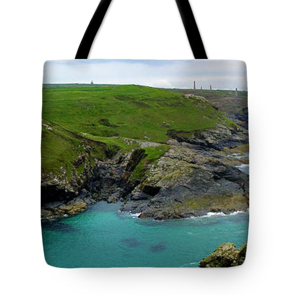 Pendeen Watch to Levant Tote Bag by Terri  Waters