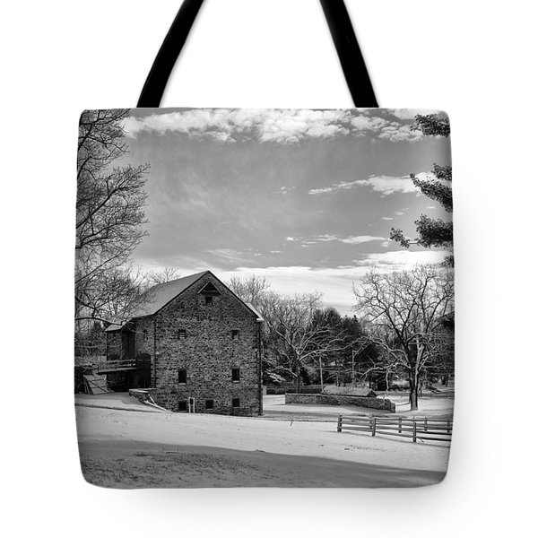 Pennsylvania Winter Scene Tote Bag by Bill Cannon