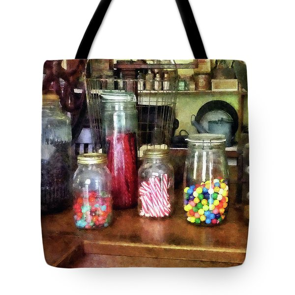 Penny Candies Tote Bag by Susan Savad