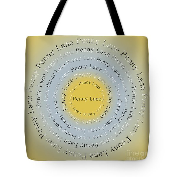 Penny Lane 2 Tote Bag by Andee Design