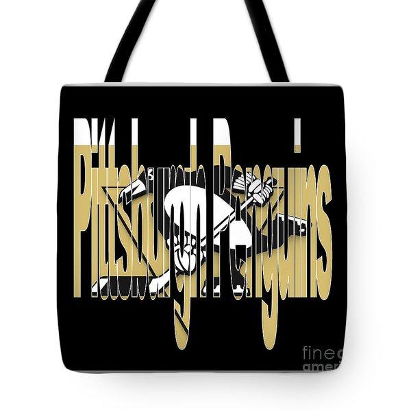 Penquins Original Art Tote Bag by Marvin Blaine
