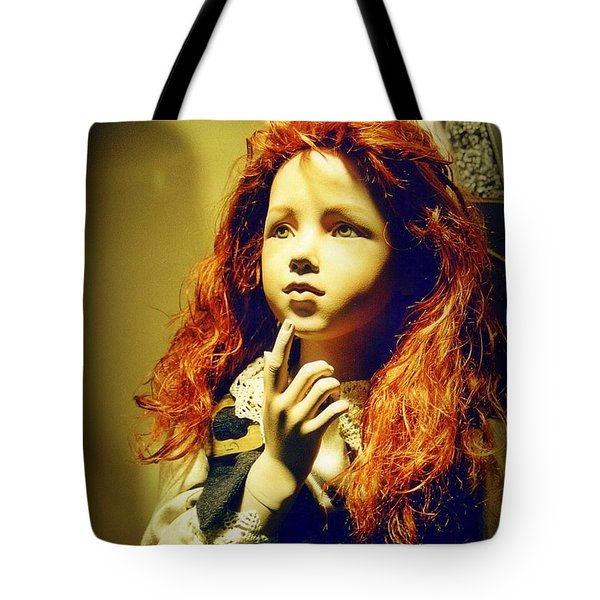 Pensive Mannequin Tote Bag by Halifax Photography John Malone