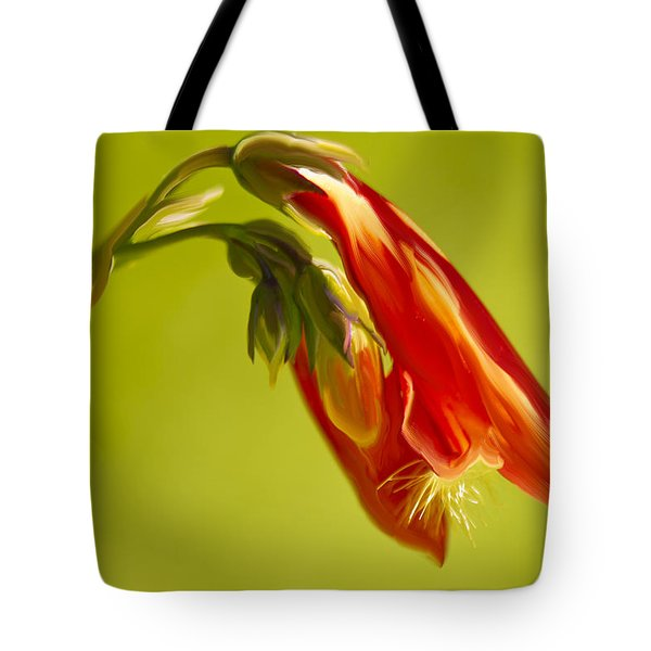 Penstemon Tote Bag by Angela A Stanton