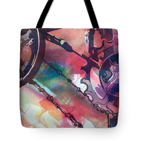 Perceptual Motion Tote Bag by Kris Parins