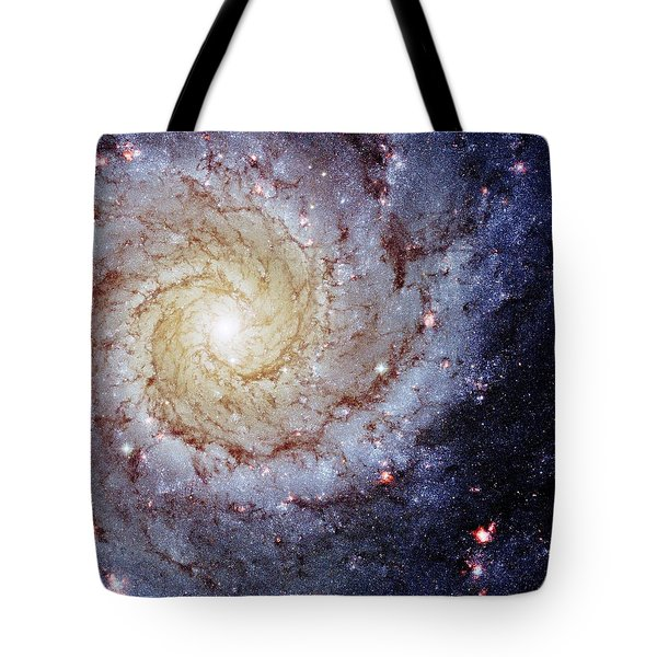 Perfect Spiral Tote Bag by Benjamin Yeager
