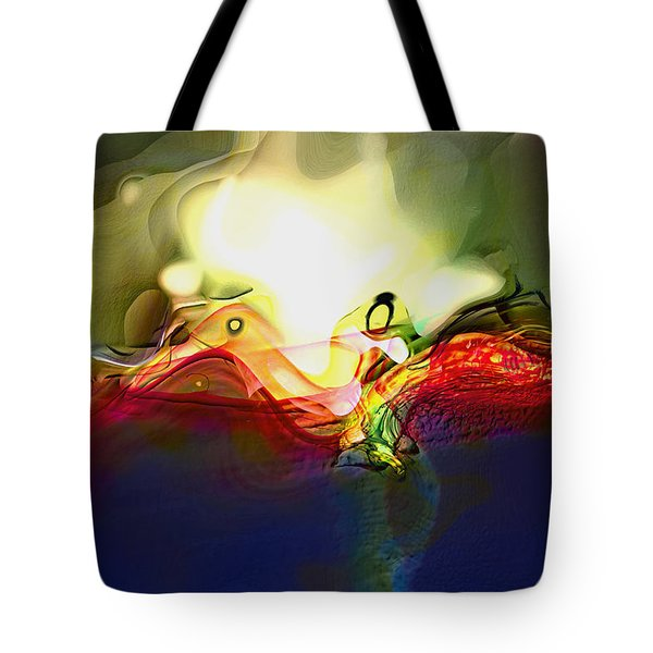Performance Tote Bag by Richard Thomas