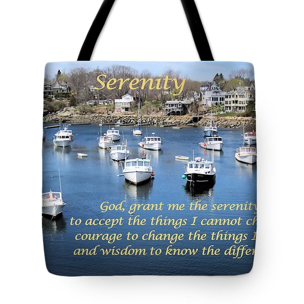 Perkins Cove Serenity Tote Bag by Patricia Urato