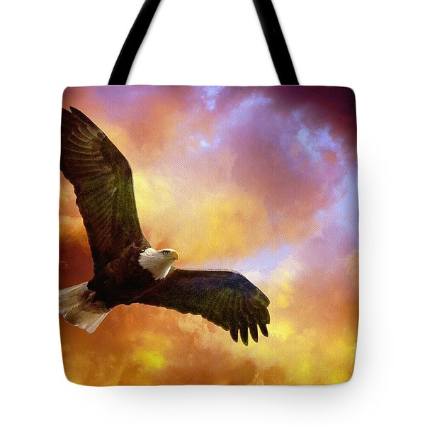 Perseverance Tote Bag by Lois Bryan