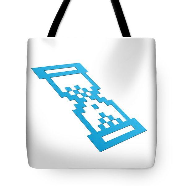 Perspective Hour Glass Tote Bag by Aged Pixel