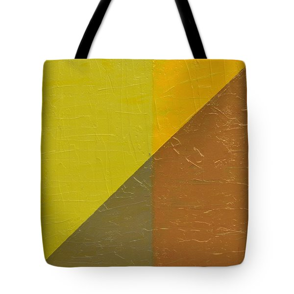 Perspective In Color Collage 10 Tote Bag by Michelle Calkins